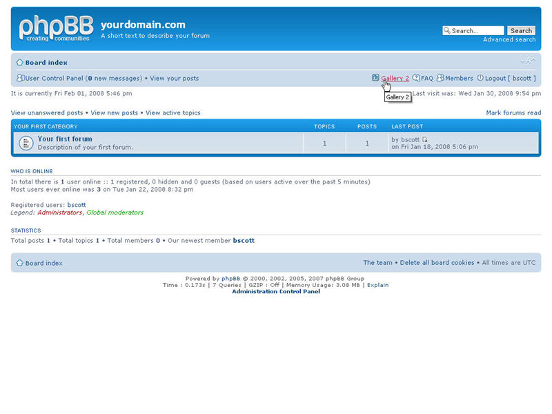 Want some bukkake links powered by phpbb Who